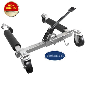 Mechanical vehicle positioning jack