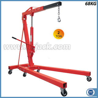 2 Ton Hydraulic Foldable Shop Crane for Car