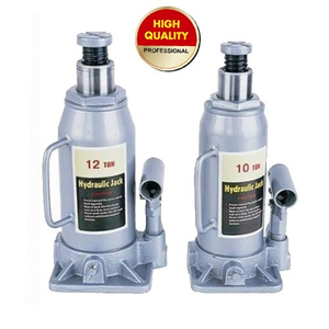 Hydraulic Bottle Jack-silver color