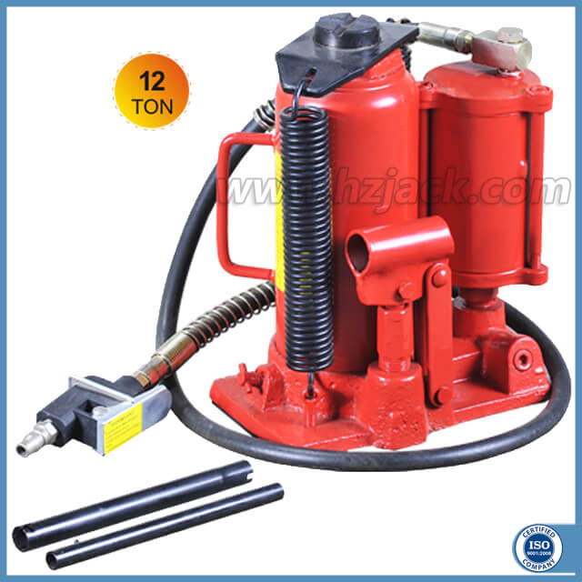 12 Ton Air over Hydraulic Bottle Jack