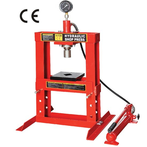 10 ton shop press with portable pump
