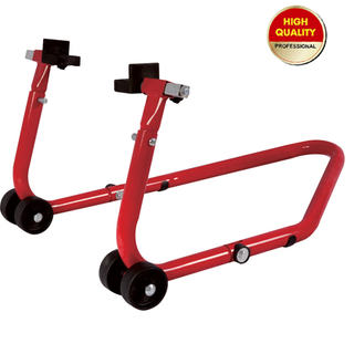 adjustable motorcycle support stand