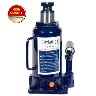 16ton hydraulic bottle jack with safety valve