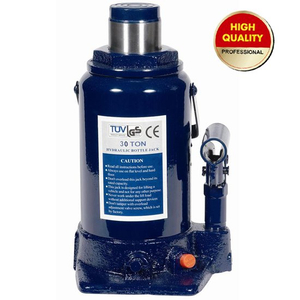 30ton hydraulic bottle jack with safety valve