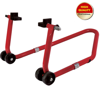 Motorcycle support stand-rear