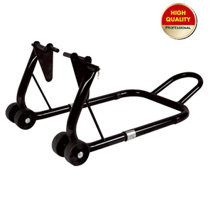 Motorcycle stand-front