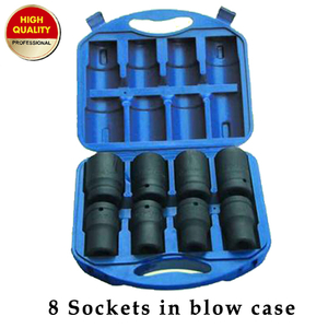 8pcs sockets packing in blow case