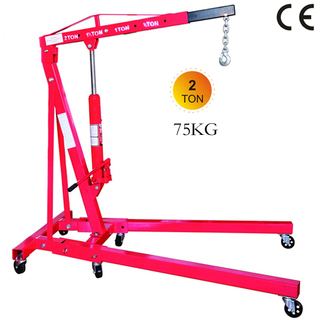 Folding 2 ton Shop Crane 75 kg