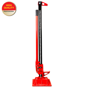 High lift jack with base